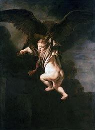 Rape of Ganymede | Rembrandt | Painting Reproduction