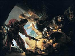 The Blinding of Samson, 1636 von Rembrandt | Gemälde-Reproduktion