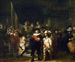 The Night Watch | Rembrandt | Painting Reproduction