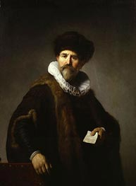 Portrait of Nicolaes Ruts | Rembrandt | Painting Reproduction