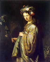 Flora | Rembrandt | Painting Reproduction