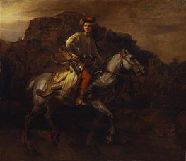 The Polish Rider, c.1655 von Rembrandt | Gemälde-Reproduktion