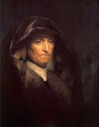 An Old Woman (The Artist's Mother), c.1629 von Rembrandt | Gemälde-Reproduktion