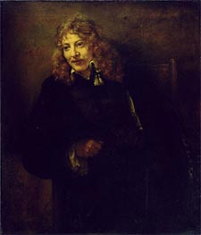 Portrait of Nicolaes Bruyningh, 1652 by Rembrandt | Painting Reproduction