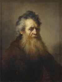 Portrait of an Old Man, 1632 by Rembrandt | Painting Reproduction