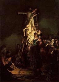 Descent from the Cross, 1634 by Rembrandt | Painting Reproduction
