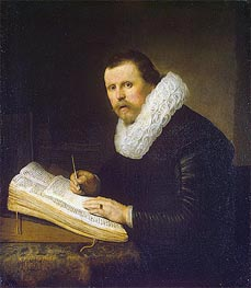 Portrait of a Scholar | Rembrandt | Painting Reproduction