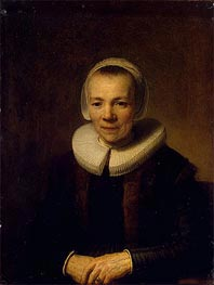 Portrait of Baertje Martens | Rembrandt | Painting Reproduction