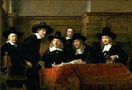 The Syndics (De Staalmeesters) | Rembrandt | Painting Reproduction
