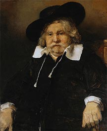 Portrait of an Elderly Man, 1667 von Rembrandt | Gemälde-Reproduktion