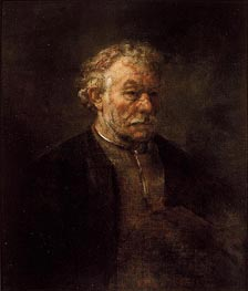 Portrait of Older Man, 1650 von Rembrandt | Gemälde-Reproduktion
