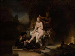 The Toilet of Bathsheba | Rembrandt | Painting Reproduction