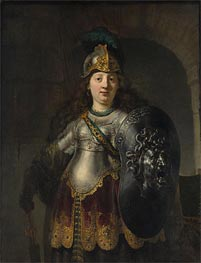 Bellona, 1633 by Rembrandt | Painting Reproduction