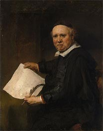 Lieven Willemsz van Coppenol, Undated by Rembrandt | Painting Reproduction