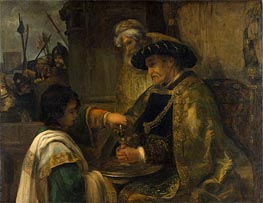 Pilate Washing His Hands | Rembrandt | Gemälde Reproduktion