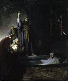 The Raising of Lazarus | Rembrandt | Painting Reproduction