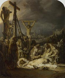 The Lamentation over the Dead Christ | Rembrandt | Painting Reproduction