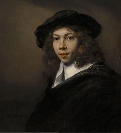 Portrait of a Young Man | Rembrandt | Painting Reproduction