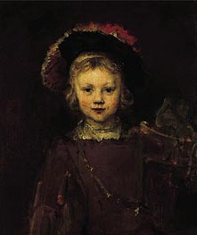 Portrait of a Boy | Rembrandt | Painting Reproduction