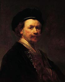 Self-Portrait | Rembrandt | Painting Reproduction