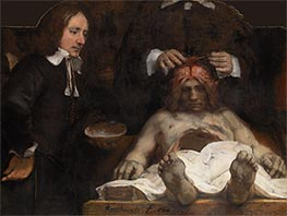 The Anatomy Lesson of Dr Joan Deyman | Rembrandt | Painting Reproduction