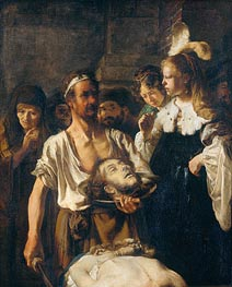 The Beheading of John the Baptist | Rembrandt | Painting Reproduction