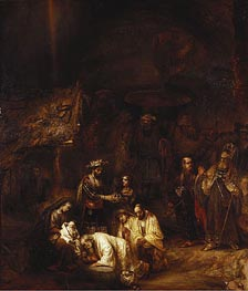 The Adoration of the Magi | Rembrandt | Gemälde Reproduktion