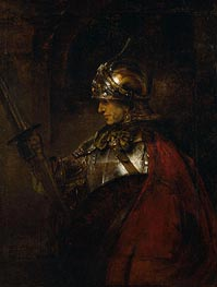 A Man in Armour | Rembrandt | Painting Reproduction