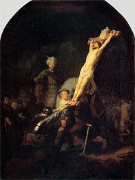 Crucifixion, c.1633 by Rembrandt | Painting Reproduction