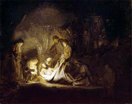 The Entombment | Rembrandt | Gemälde Reproduktion