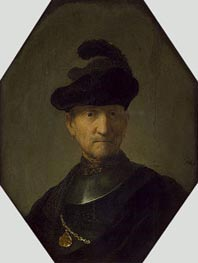 Old Warrior | Rembrandt | Gemälde Reproduktion