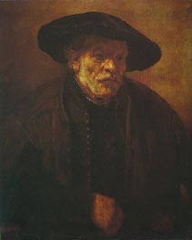 Portrait of Rembrandt's Brother Andrien van Rijn | Rembrandt | Painting Reproduction