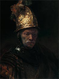 The Man with the Golden Helmet | Rembrandt | Gemälde Reproduktion
