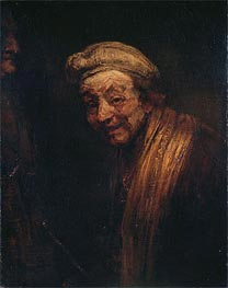Self Portrait, c.1668/69 by Rembrandt | Painting Reproduction
