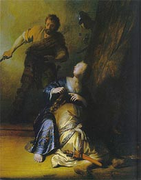 Samson and Delilah | Rembrandt | Painting Reproduction