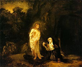 Woman, why are you Crying | Rembrandt | Painting Reproduction