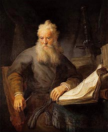 Apostle Paul | Rembrandt | Painting Reproduction