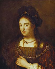 Saskia | Rembrandt | Painting Reproduction