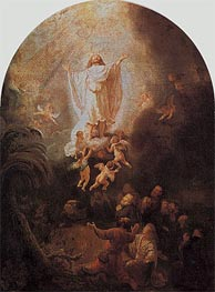 The Ascension of Christ, 1636 von Rembrandt | Gemälde-Reproduktion