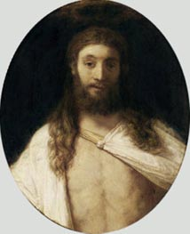 The Risen Christ, 1661 von Rembrandt | Gemälde-Reproduktion