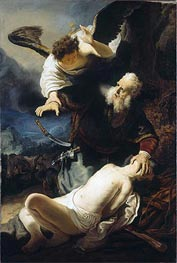 The Sacrifice of Isaac, 1636 by Rembrandt | Painting Reproduction
