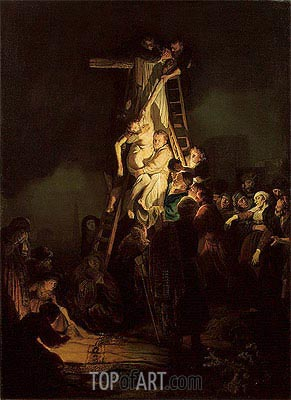 Descent from the Cross, 1634 | Rembrandt | Gemälde Reproduktion