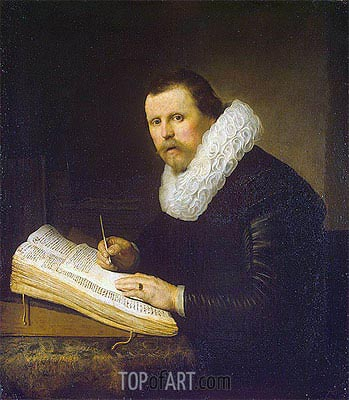 Portrait of a Scholar, 1631 | Rembrandt | Painting Reproduction