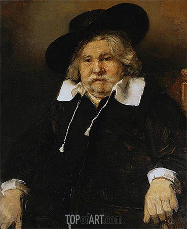 Portrait of an Elderly Man, 1667 | Rembrandt | Gemälde Reproduktion