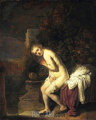 Susanna, 1636 | Rembrandt | Painting Reproduction