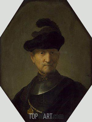 Old Warrior, c.1630 | Rembrandt | Painting Reproduction