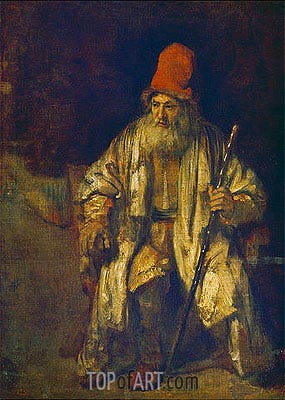 The Old Man with the Red Cap, undated | Rembrandt | Gemälde Reproduktion