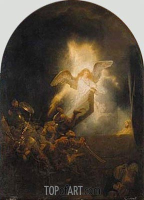 Resurrection of Christ, c.1635 | Rembrandt | Painting Reproduction