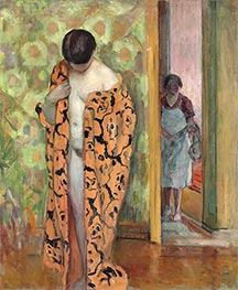 The Japanese Bathrobe, c.1926 by Henri Lebasque | Painting Reproduction