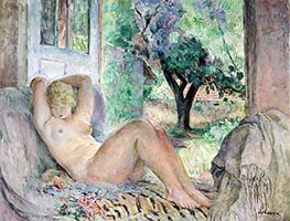Grand Nude (Marinette), 1934 by Henri Lebasque | Painting Reproduction